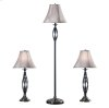 Sperry - 3-Pack - 2 Table Lamps, 1 Floor Lamp