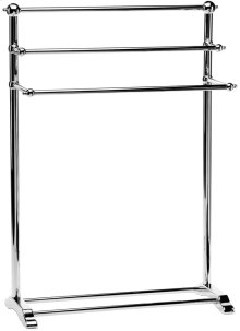 Satin Nickel (us15) Towel stand