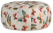 Living Room Milsey Tufted Ottoman
