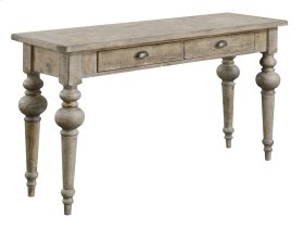 Sofa Table Pine-sandstone Finish Rta