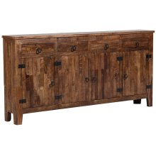 Vintage 4 Door, 4 Drawer Sideboard, GE5162