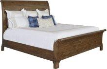 Suffolk Sleigh Bed (California King)
