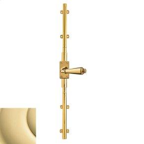 Non-Lacquered Brass Cremone Bolt