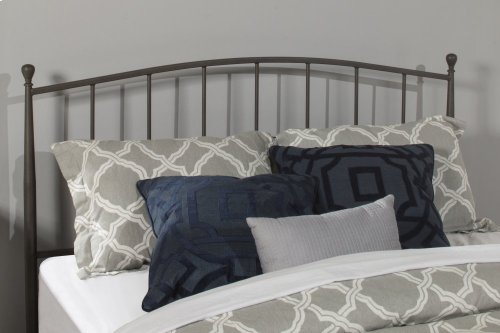 Warwick King Bed Set With Rails (gray Bronze)