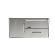 Combination Storage: Warming Drawer & Access Doors
