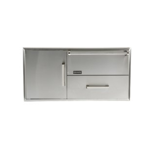 Combination Storage: Warming Drawer & Access Doors -