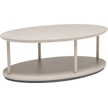Oval Works Cocktail Table