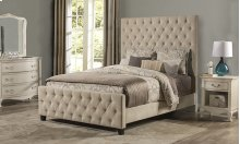 Savannah Queen Bed Beige