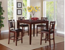Counter Height Table, W/4 Stools