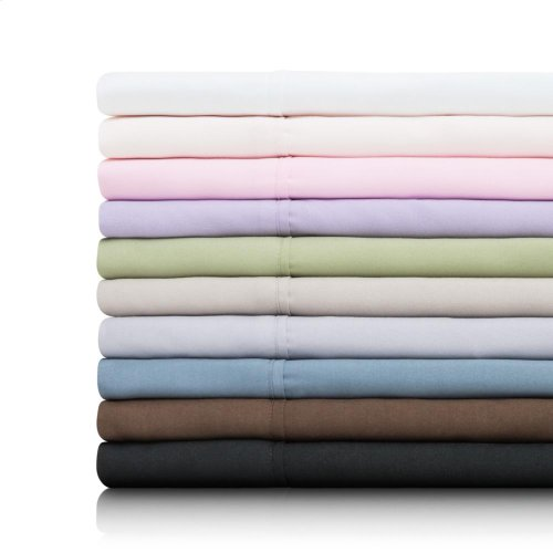 Brushed Microfiber - Split Queen Chocolate
