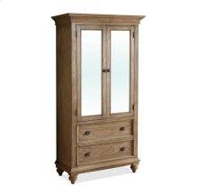Coventry Armoire Weathered Driftwood finish