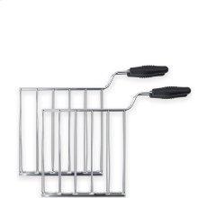 Smeg Retro 50's Style Toaster TSF01/TSF03 Accessories Sandwich Rack Set (2 pcs)