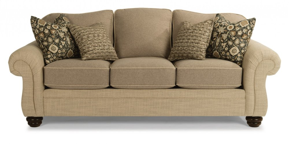 Hidden · Additional Bexley Two Tone Fabric Sofa Without Nailhead Trim
