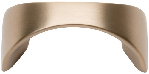 Sleek Knob 1 1/4 Inch (c-c) - Champagne