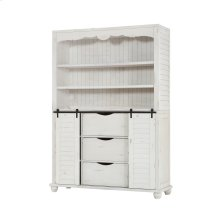 Complete Buffet & Hutch-country White