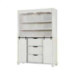 Complete Buffet & Hutch-country White Product Image