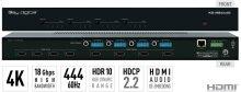 4x4 4K/18G HDMI Matrix Switchers, with Independent Audio Switching, Balanced/Unbalanced Audio, Audio De-embedding of Analog L/R/PCM