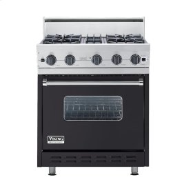 "Graphite Gray 30"" Open Burner Range - VGIC (30"" wide, four burners)"