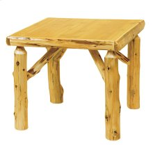 Game Table - 32-inch - Natural Cedar