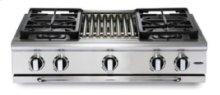 "36"" 4 burner w/ Thermo-Griddle™ range-top - NG"
