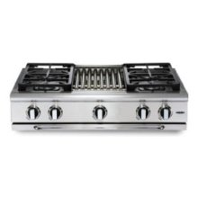 "36"" 6 burner range-top - LP"