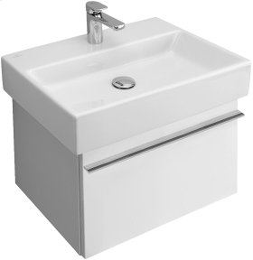 "Washbasin 24"" Angular - Matte White CeramicPlus"