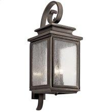 "Wiscombe Park 30.5"" 4 Light Wall Light Olde Bronze®"