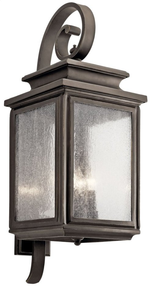 "Wiscombe Park 30.5"" 4 Light Wall Light Olde Bronze®"