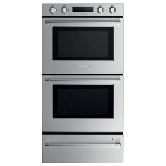 """Fisher & Paykel Double Oven, 30"""", 10 Function, Self-cleaning"""