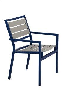 Cabana Club Aluminum Slat Dining Chair