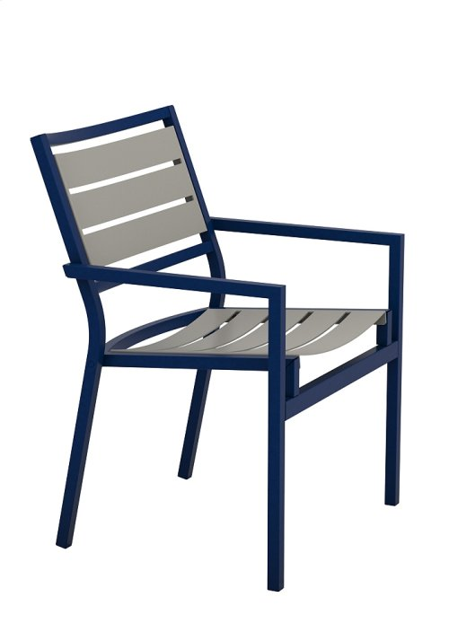 Cabana Club Aluminum Slat Dining Chair