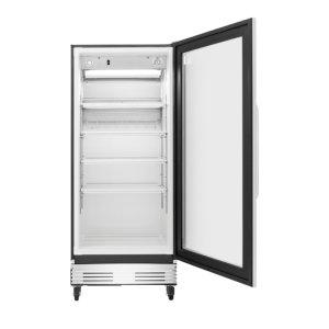Frigidaire Commercial 18.4 Cu. Ft., Glass Door Merchandiser in Stainless Steel **OPEN BOX** West Location