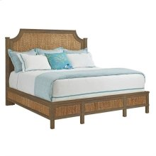 Resort Water Meadow Woven Bed-Queen in Deck