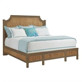 Resort Water Meadow Woven Bed In Deck - California King