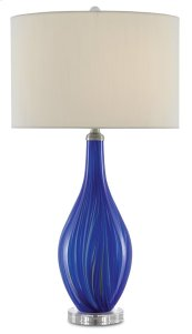 Lupo Blue Table Lamp