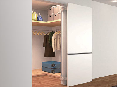 Lateral Opening System - Large Doors