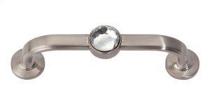Legacy Crystal Bracelet Pull 3 Inch (c-c) - Brushed Nickel Product Image