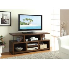 Contemporary Brown TV Console