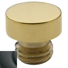 Oil-Rubbed Bronze Button Finial