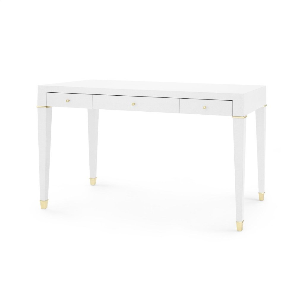 Claudette Desk, White