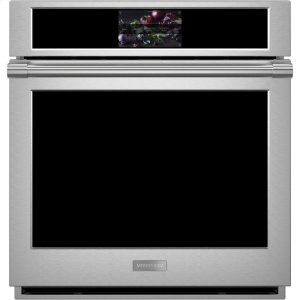 "GE MonogramMonogram 27"" Smart Electric Convection Single Wall Oven Statement Collection"
