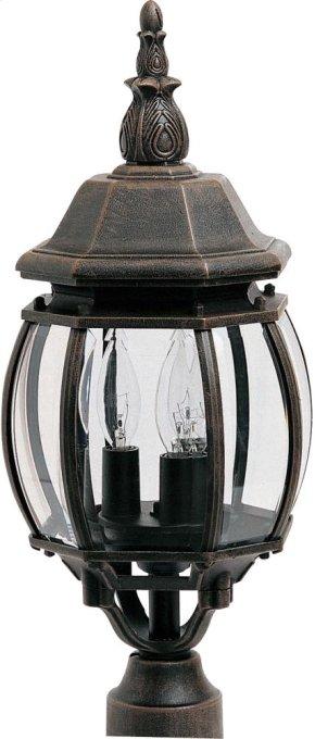 Crown Hill 3-Light Outdoor Pole/Post Lantern