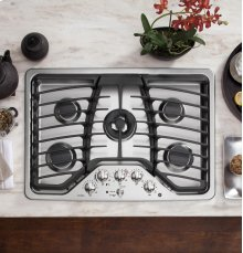 "Floor Model - GE Profile™ Series 30"" Built-In Gas Cooktop"