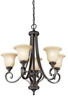 Monroe 5 Light Chandelier Olde Bronze®