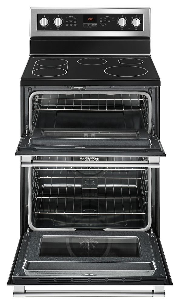 Met8800fz Maytag 30 Inch Wide Double Oven Electric Range