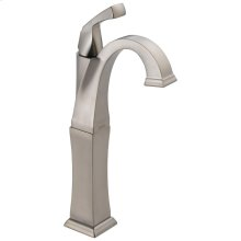 Stainless Single Handle Vessel Lavatory Faucet