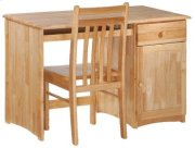 Spice Natural Clove Desk & Chair Product Image