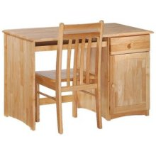 Spice Natural Clove Desk & Chair