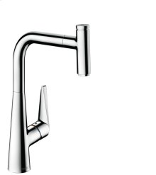 Chrome HighArc Kitchen Faucet, 1-Spray Pull-Out, 1.75 GPM