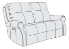 McGwire Power Motion Loveseat Product Image